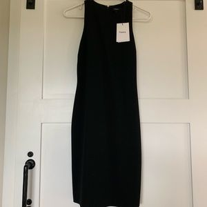 NEW WITH TAGS, Theory Black Racerback Dress